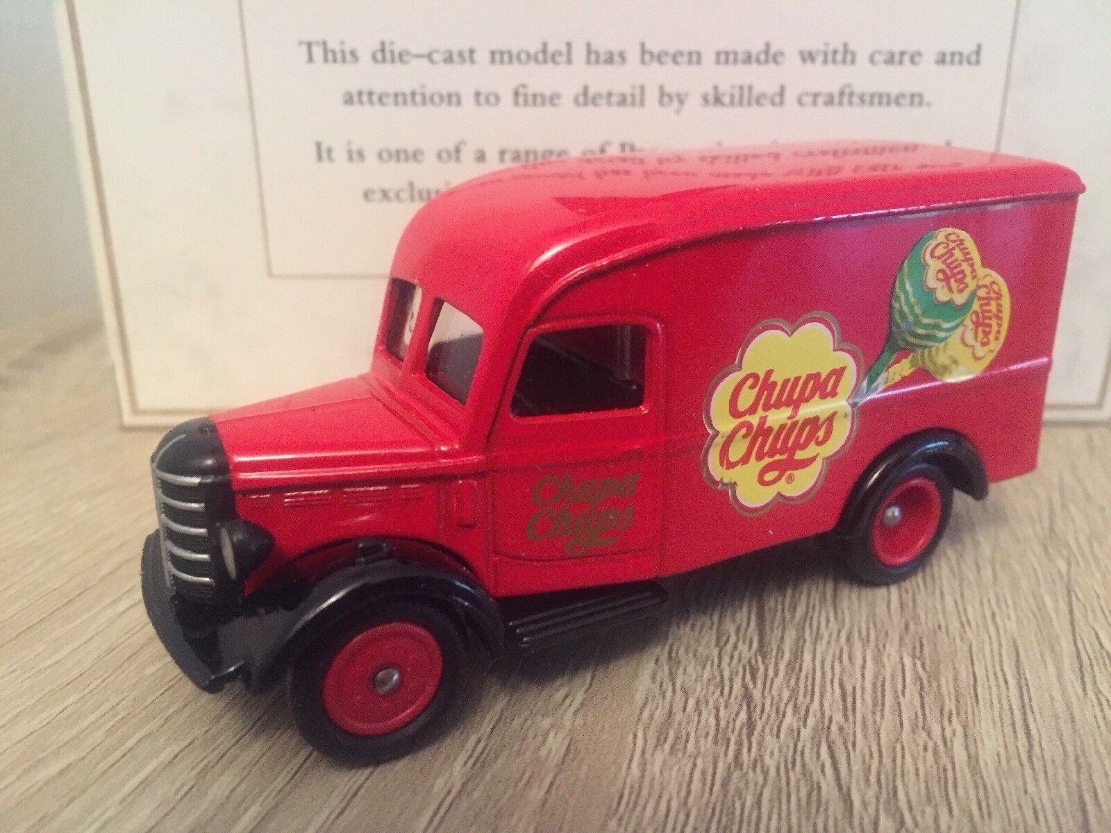 Rare Lledo Chupa Chups Lollipops Bedford 30cwt Van