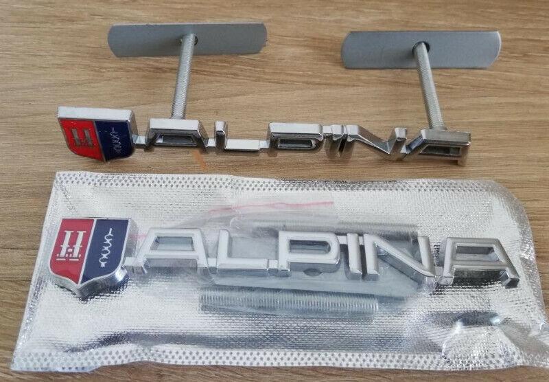 ALPINA front grille badge emblem.