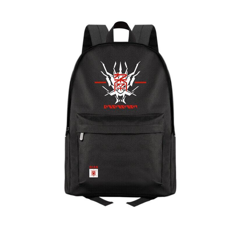Anime Arknights Black Casual Fashion Backpack Shoulders Bag Schoolbag #M03