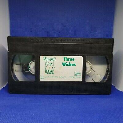 Barney Backyard Gang- Three Wishes (VHS, 1988) Sandy ...