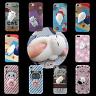 3D Cartoon Squishy Cat Soft Gel Fullbody Protect Case Cover F iPhone 6/6s/7 Plus