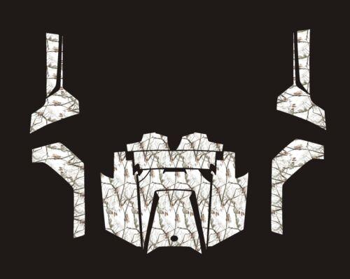 Polaris RZR RANGER 570 800 900 xp DECALS WRAP DOORS UTV camo camouflage snow 2