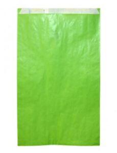 100-x-Bolsa-de-regalo-0-13-x-pieza-papel-estraza-verde-41-cm