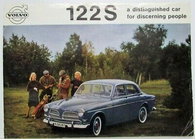 Volvo 122 S 1961 Volvo 122S a distinguished car for discerning people