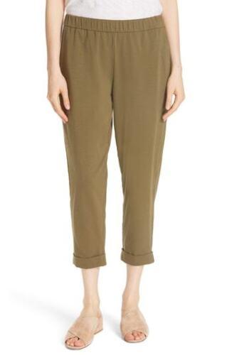 bio en stretch Eileen Pantalon Nwt coton en Taille olive 138 slim L jersey Msrp Fisher dTqzBqp0