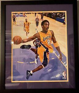 Kobe Bryant Signed 16x20 LA Lakers Photo Custom Framed JSA COA Letter | eBay