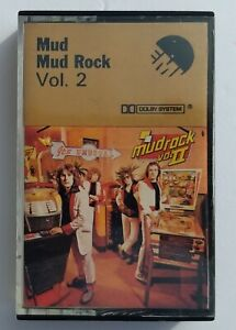 Mud Rock Vol. 2 Music Cassette 1975 English Glam Band Mud EMI Oh Boy One Night