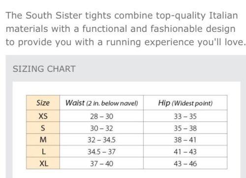 00 Sister Tights South 109 Bioskin Xs Running Retail Taglia R8Fwqpxq6