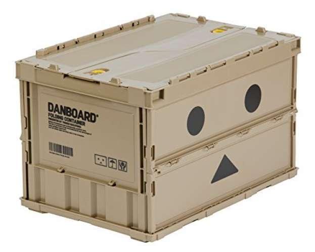 Nuevo Estuche Contenedor Plegable trusco Danbo 50L Caja de almacenamiento con cerradura Hágalo usted mismo de Japón