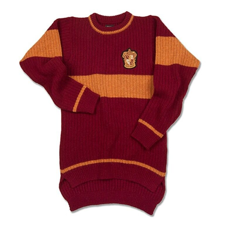 Wizarding World Of Harry Potter Gryffindor Quidditch Sweater S M L XL XXL