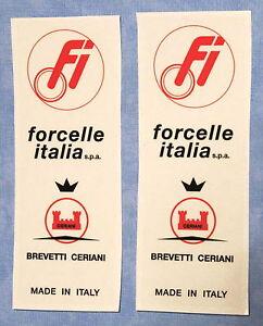 FORCELLE-ITALIA-BIMOTA-DUCATI-MAGNI-LAVERDA-GUZZI-STICKERS-LONG-TYPE