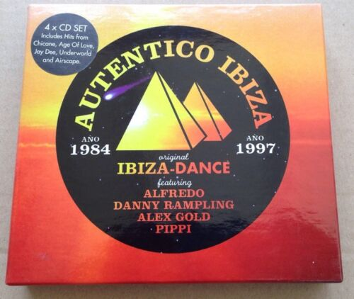 1 of 1 - Autentico Ibiza 4 x CD Box Set Alex Gold Chicane Armin Energy 52 Underworld