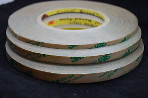 3M 468MP High-Strength Adhesive Force Double-sided Adhesive 5MM~10mm*55m