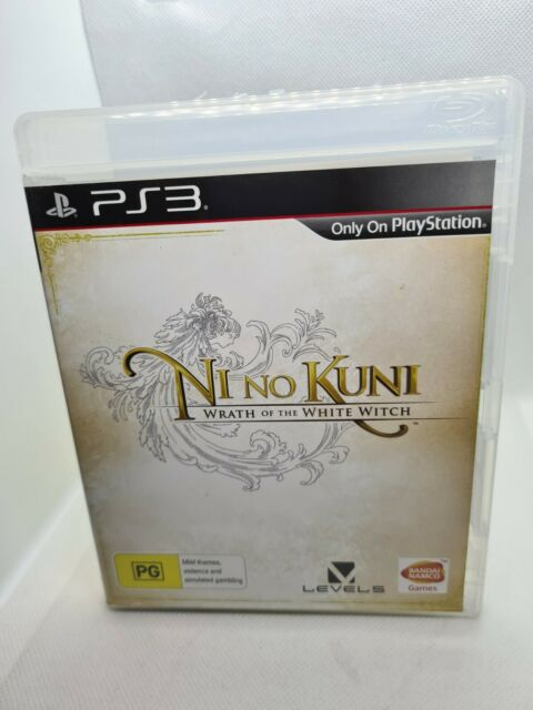 Ni no Kuni Wrath of the White Witch - Playstation 3 - PS3 with Manual!