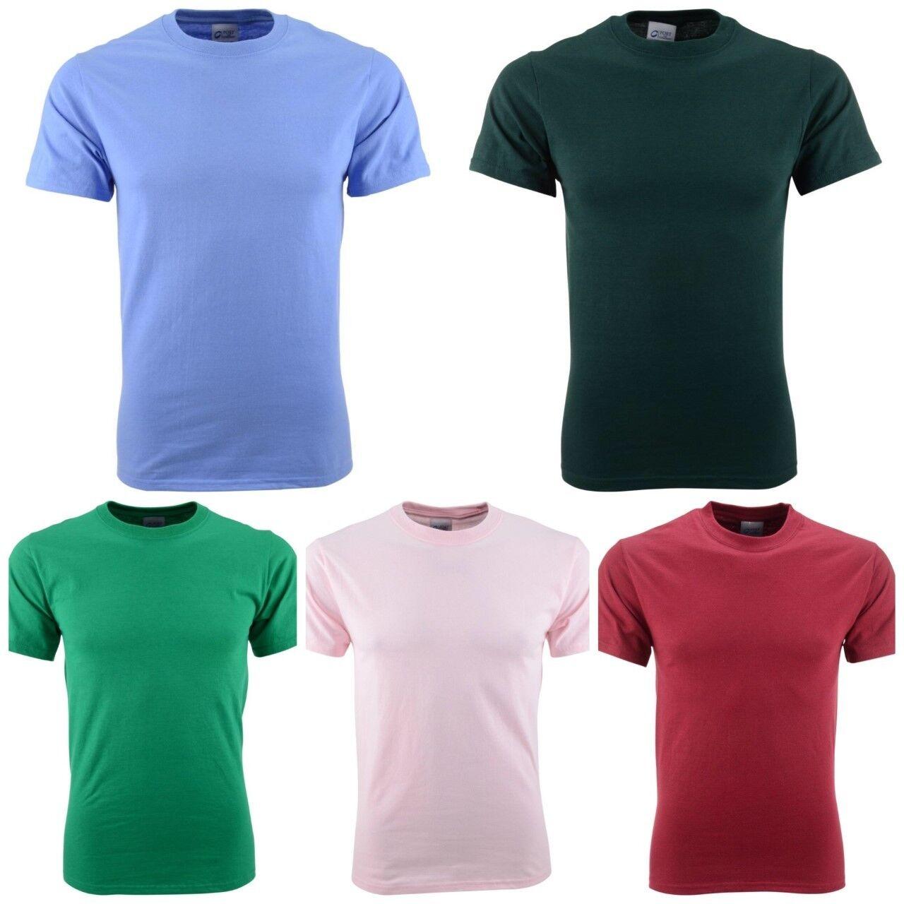 NEW  Port Authority T-Shirt Lot  Herren - Größe 3XL - Pre-Shrunk Cotton