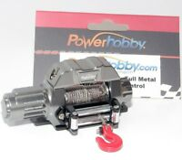 Powerhobby 1/10 Scale Rock Crawler Winch For Scx10 Wraith Rr10 Rc4wd Gun on sale