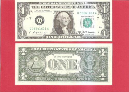 Uncirculated G//A FRN 1969B $1