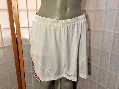 Adidas Bianco Climacool Atletica Tennis Gonna Corta Donna Taglia L Assicurare Anni Di Servizio Senza Problemi