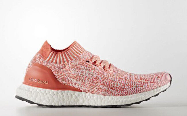 Adidas Ultra Boost Uncaged Haze corail blanc femme Running Baskets Taille UK 5.5