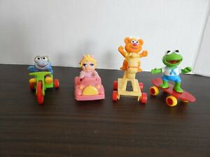 McDonald-039-s-Happy-Meal-Toys-Baby-Muppets-1986-Set-of-4