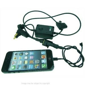 Moto-Hella-din-Bmwstyle-Prise-Chargement-Cable-Pour-Apple-iPhone-5S
