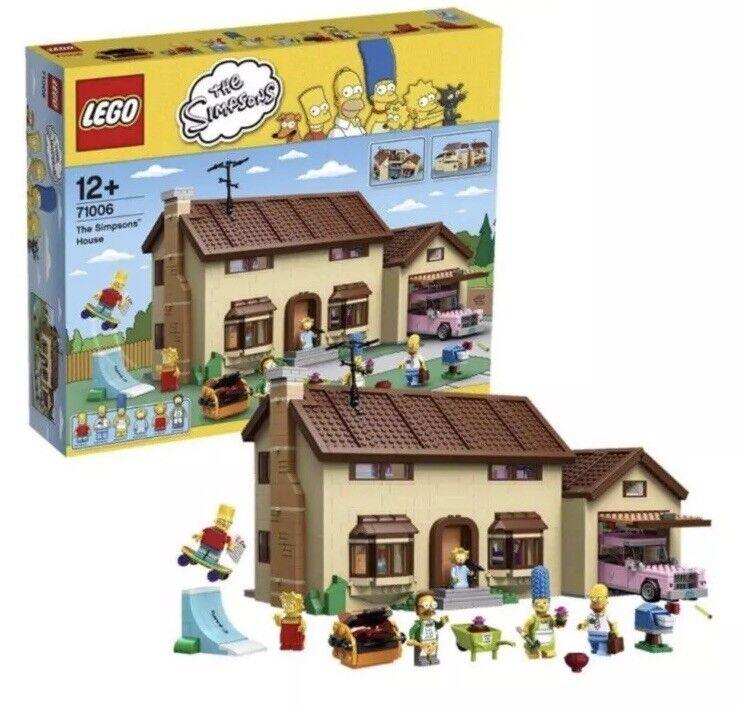 LEGO 71006 la casa SIMPSONS neu&ovp
