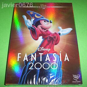 FANTASIA-2000-CLASICO-DISNEY-NUMERO-38-DVD-NUEVO-Y-PRECINTADO-SLIPCOVER