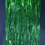 """thumbnail 5 - FOIL BACKDROP 40""""x10'  Party Fringe Curtain Decor Choose Color"""