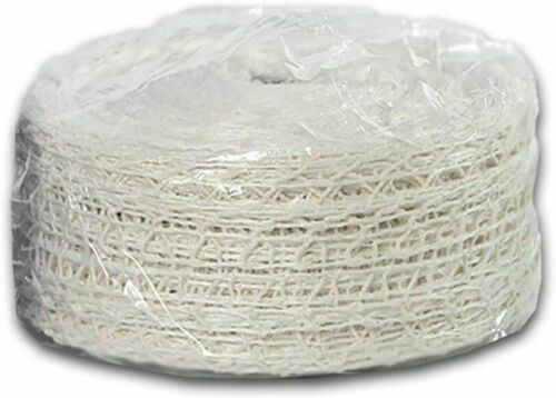 lebensmittelechtes Koch-// Bratnetz aus einem Baumwoll-Latex-Gemisch,Länge 50m,