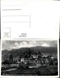 591631-Alland-Altes-Jagdschloss-d-Kronprinz-Rudolf-Mayerling-1889-Adel-Monarchi