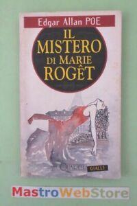 EDGAR-ALLAN-POE-IL-MISTERO-DI-MARIE-ROGET-ED-1995-ACQUARELLI-L125