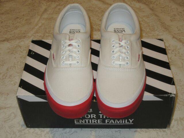 Vans Vault OG Era LX Wtaps White Red