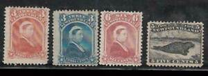 Newfoundland - Mail Yvert 27/30 MH Characters