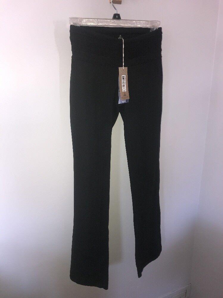 NWT prAna Women's Olympia Regular Inseam Pant - Charcoal  - sz XS - retail  80