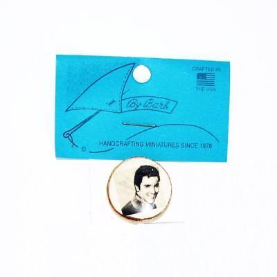 DOLLHOUSE Plate Elvis Presley CDD403 By Barb Wall Art Miniature