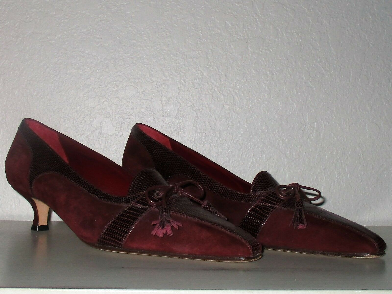 Susan van der Linde Couture Heel-Size 39-France-Beautiful!