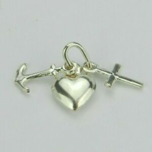 Sterling-Silver-Faith-Hope-Charity-Pendant-Gift-Birthday-Easter-Mother-Father