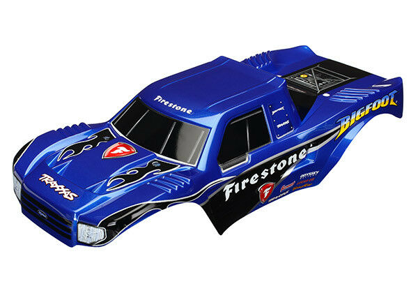 TRAXXAS 3658 Bodywork BIGFOOT FIRESTON BIGFOOT 1 Painted BODY traxxas BIGF