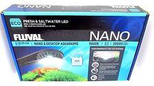 Fluval Fresh & Saltwater LED Light NANO & Desktop Aquariums 5-10 Gallons/20-40 L