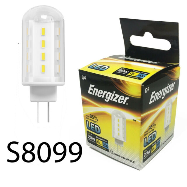 Energy High G4 Capsule Led Saving Tech Fitting Bulbs 2w20w Light Energizer 2 POXn8k0w