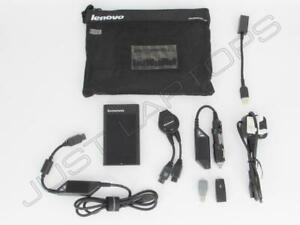 Nuovo Originale Lenovo 41R0144 41R0139 AC/Dc Multi Tip Caricatore Alimentazione