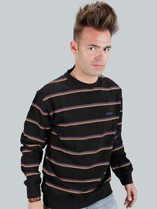 Dickies-Sweat-Pullover-034-Silverheels-034-schwarz-Groessen-S-bis-M