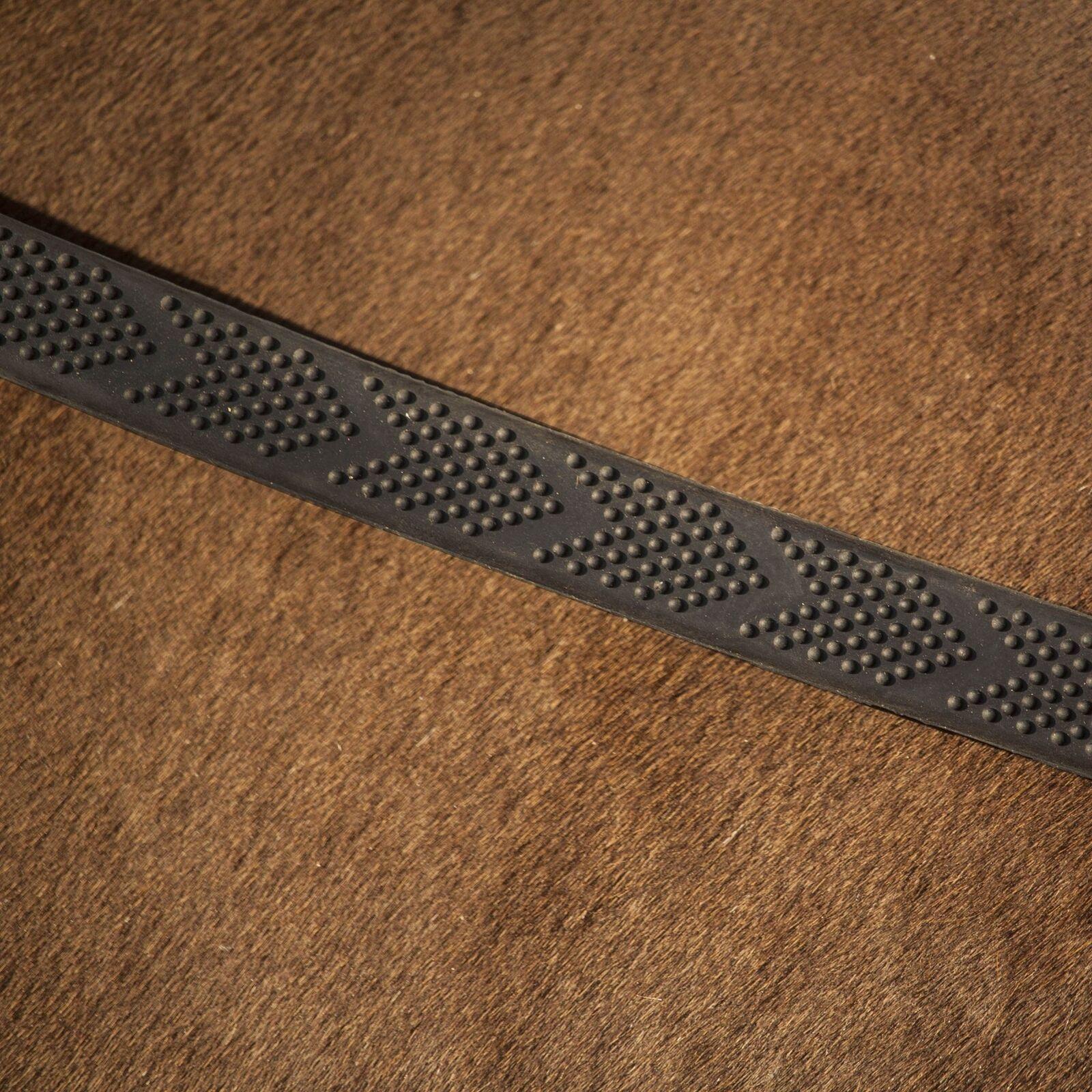 Henry James Saddlery English V-Grip Rubber Reins
