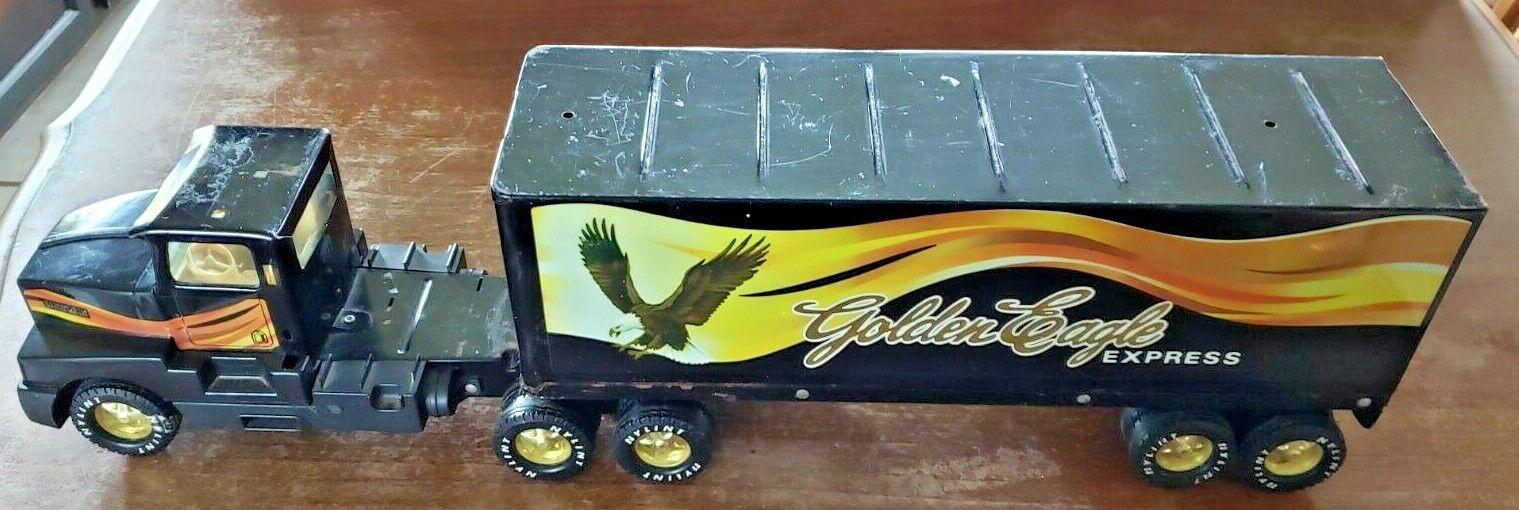 Vintage jouet NYLINT oren Eagle Express 18 roues semi Tracteur Remorque Camion