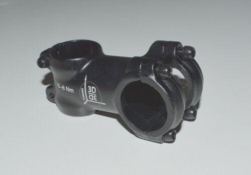 """Ahead Vorbau 1 1//8/"""" 60 mm 7-7°  schwarz matt 31,8 mm OS Lenkerklemmung"""