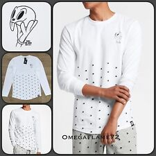 Nike Air Jordan XI 11 Space Jam Tee Shirt 819121-100 Sz Med 20th Anniversary