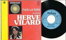 """HERVE VILARD 45 TOURS 7"""" BELGIUM FAIS LA RIRE"""