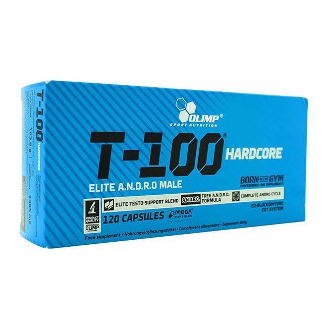 Olimp - T 100 Hardcore - Mega Caps Testo Booster, Tribulus