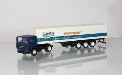 Model Building Popular Brand Herpa Volvo Containersattelzug Chambourcy H0 1:87 Truck In Replacement Rapid Heat Dissipation