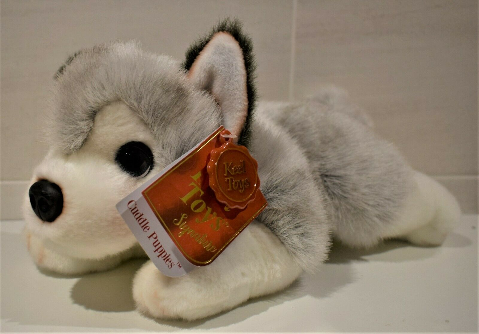 Keel Toys Soft Toy Husky Puppy Dog Plush Cute Collectible Pet 30 Cm For Sale Online Ebay